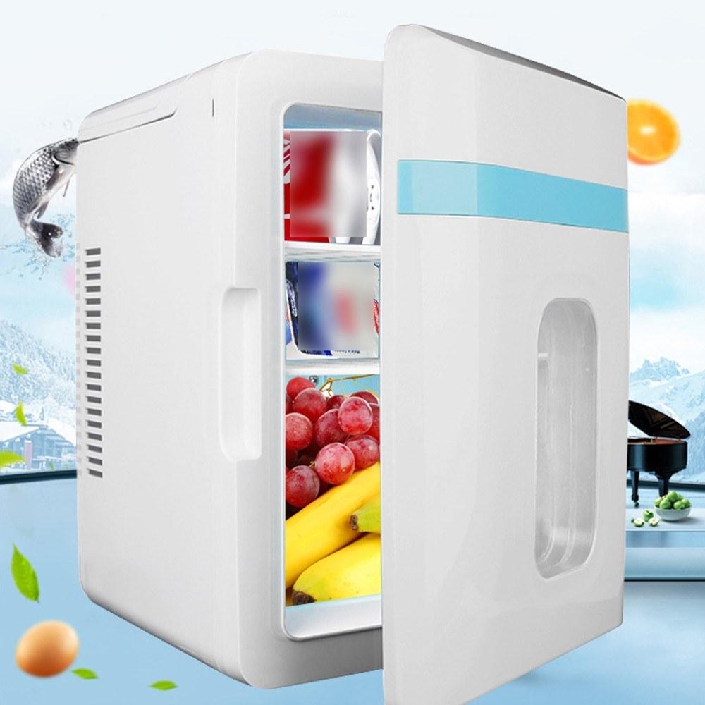 35% OFF 12V Mini Universal Vehicle Fridge Portable Car Freezer Food Heater 10L Refrigerator,free shipping+$139.11