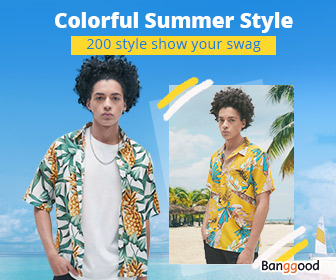 Colorful Summer Style for Men Clothing Prmotion