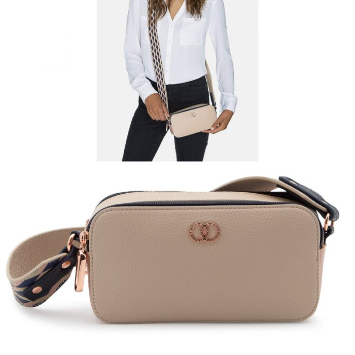 Caboodles Life & Style Crossbody Clutch – Dual Compartment Bag