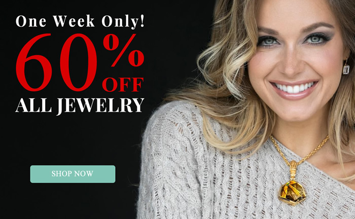 One Week Only – All Jewelry 60% OFF