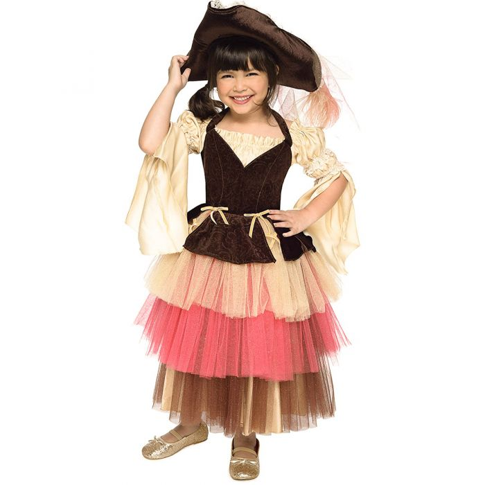 Princess Paradise Audrey The Pirate Girl's Costume  Dress & Hat