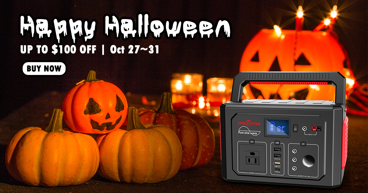 Halloween 350w Power station $100 off