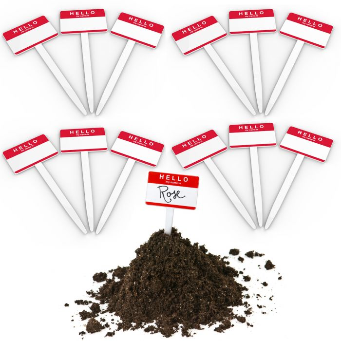 12pk Fred & Friends Yard Goods Garden Markers ? Plant Name Tags