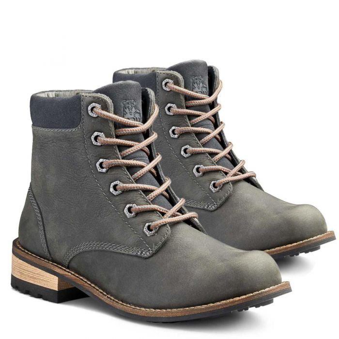 Kodiak Women?s Jaya Waterproof Leather Boots ? Nonslip Comfort