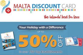 Malta Discount Card - Holiday Card
